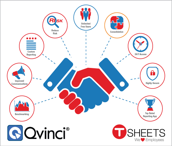 Powerhouse QuickBooks Apps Qvinci and TSheets Join Forces to